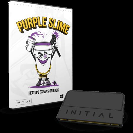 Initial Audio Purple Slime HEATUP3 EXPANSION