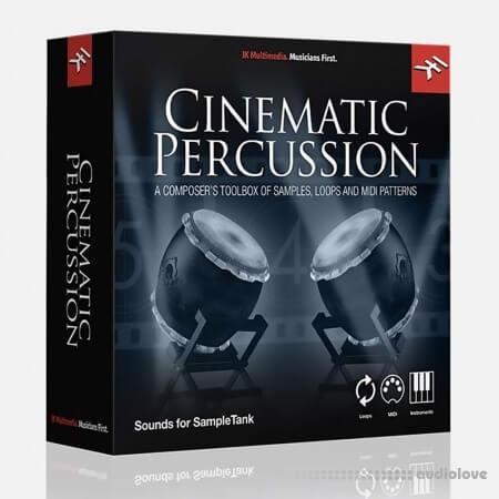 IK Multimedia Cinematic Percussion