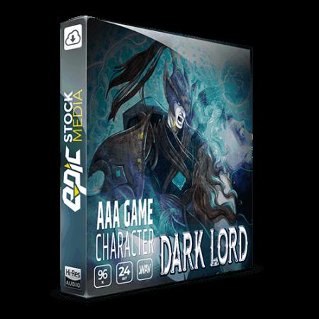 Epic Stock Media AAA Game Character Dark Lord
