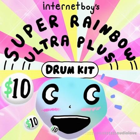 Internetboy's Super Rainbow Ultra Plus Drum Kit