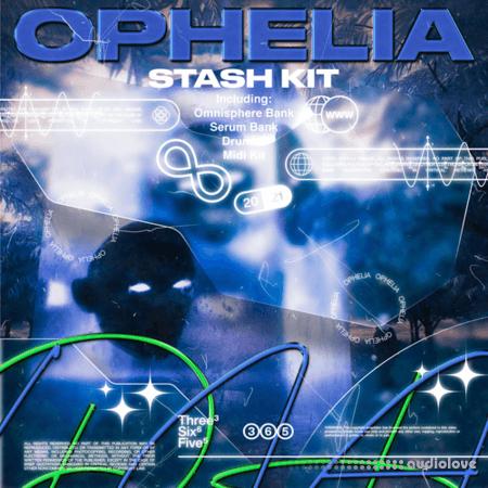 itsleqn and liambarronn Ophelia Stash Kit WAV MiDi Synth Presets
