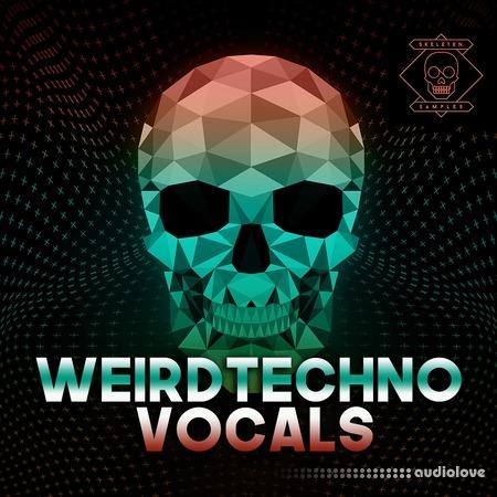 Skeleton Samples Weird Techno Vocals