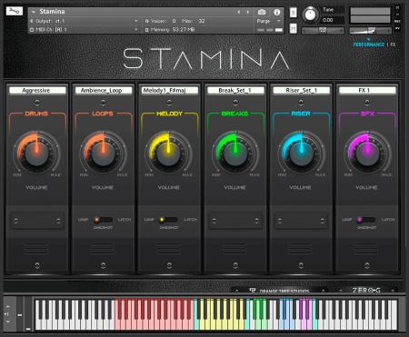 Zero-G Stamina Production Toolkit
