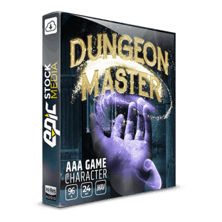 Epic Stock Media AAA Game Character Dungeon Master