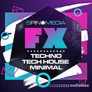 5Pin Media FX Plus Techno, Tech House and Minimal