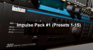 Signaltonoize Lexicon M300 Impulse Sets