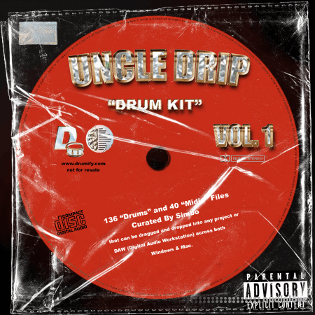 Simbo Uncle Drip Vol.2 Drum Kit