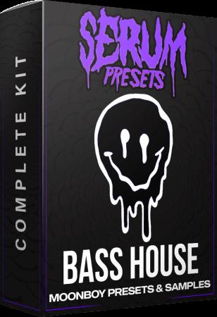 MOONBOY Bass House Serum Presets and Samples