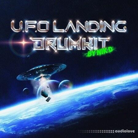 Nik D Ufo Landing Drum Kit