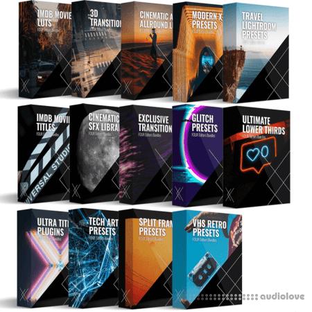 FOUR Editors Platinum Bundle: Complete All in 1 - 3000+