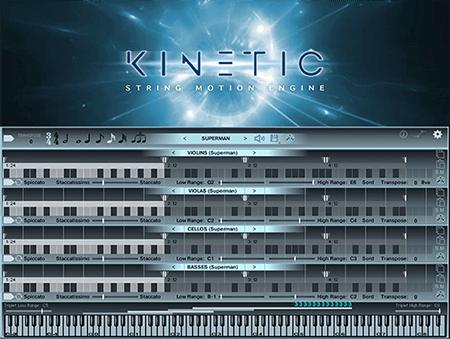 Kirk Hunter Studios Kinetic: String Motion Engine KONTAKT