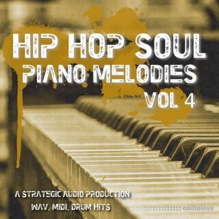 Strategic Audio Hip Hop Soul Piano Melodies Vol.4