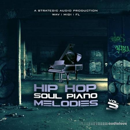 Strategic Audio Hip Hop Soul Piano Melodies Vol.3