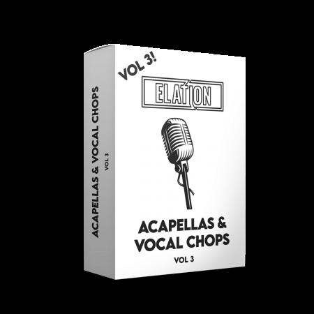 Elation Sounds Acapellas and Vocal Chops Vol.3 MiDi MP3