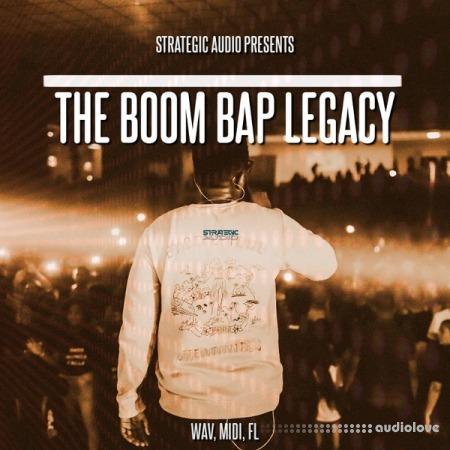 Strategic Audio The Boom Bap Legacy WAV MiDi DAW Templates