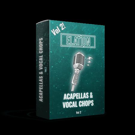 Elation Sounds Acapellas and Vocal Chops Vol.2