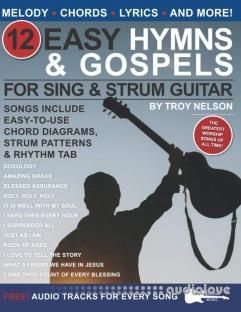 12 Easy Hymns and Gospels for Sing & Strum Guitar