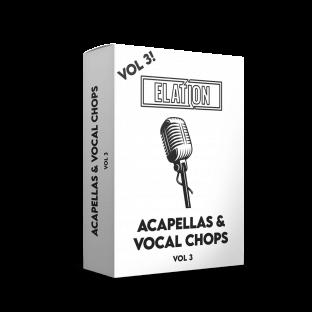 Elation Sounds Acapellas and Vocal Chops Vol.3