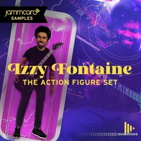 Jammcard Samples Izzy Fontaine Action Figure Set