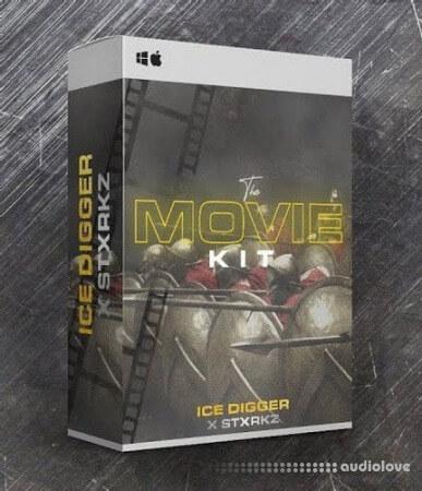 ICE DIGGER X STXRKZ The Movie Drill Drum Kit