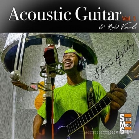 Stock Music Group Steven Ashley Acoustic Guitar and Raw Vocals Vol.1