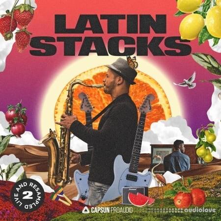 Capsun ProAudio Latin Stacks Live and Resampled Vol.2