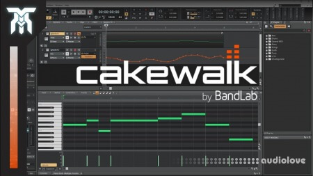 SkillShare Cakewalk by Bandlab Advanced Ways to Use Tools