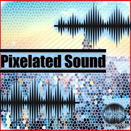 Trip Digital Pixelated Sound