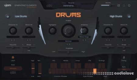 uJAM Symphonic Elements DRUMS