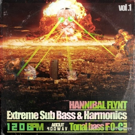 Hannibal FLYNT F0 to C2 Extreme Sub and 808 Library
