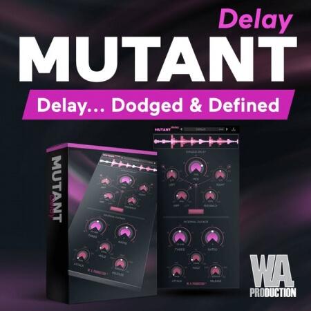 WA Production Mutant Delay v2.1.0 / v1.0.1 WiN MacOSX