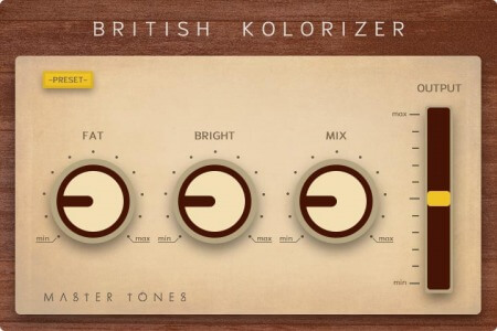 Master Tones British Kolorizer
