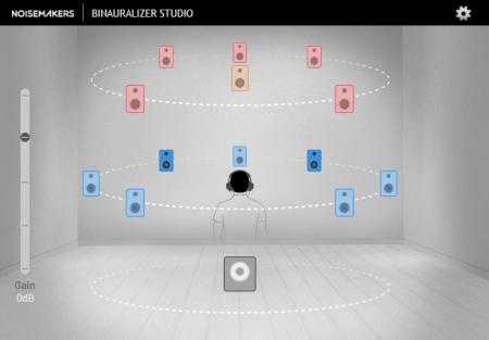 Noise Makers Binauralizer Studio