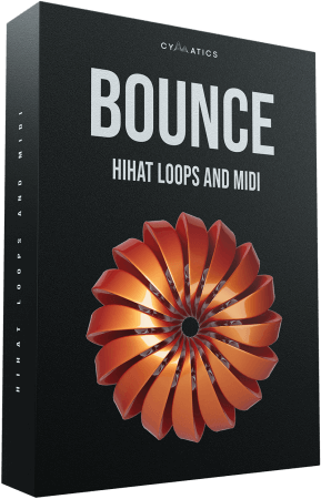 Cymatics Bounce Hi-Hat Loops and MIDI