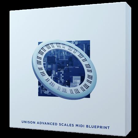Unison Advanced Scales MIDI Blueprint