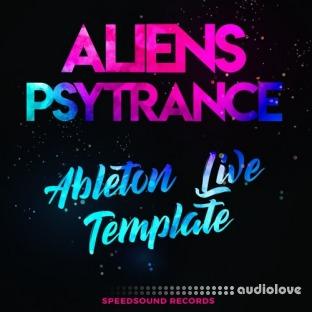 Speedsound Ableton Live Template: Aliens Psytrance