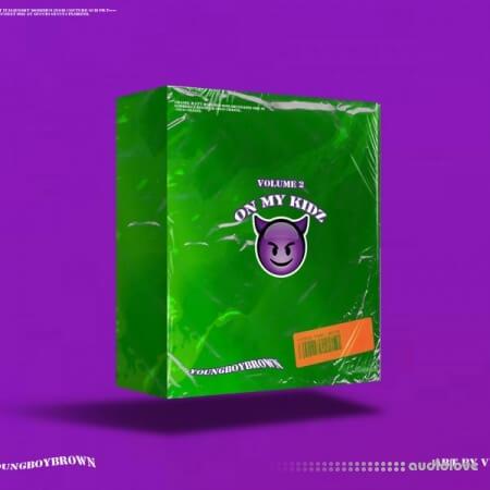 YoungBoyBrown On My Kidz Drum Kit Vol.2