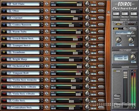 EDIROL Orchestral v1.0.3 INTERNAL WiN