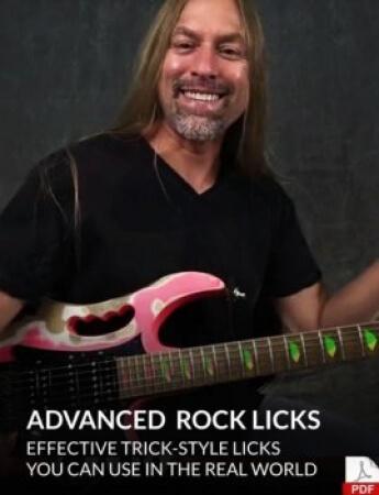 GuitarZoom Advanced Rock Licks with Steve Stine TUTORiAL