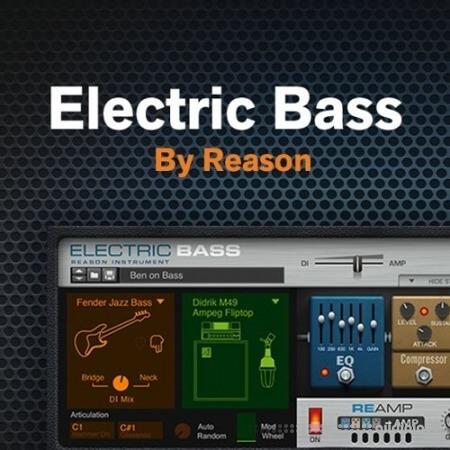 Reason RE Reason Studios Reason Electric Bass