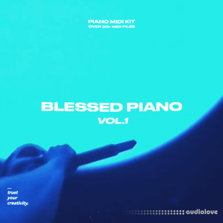 nolyrics Blessed Piano Volume 1 MIDI Kit