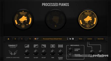 Reason RE Reason Studios Processed Pianos