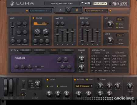Reason RE PinkNoise Studio Luna
