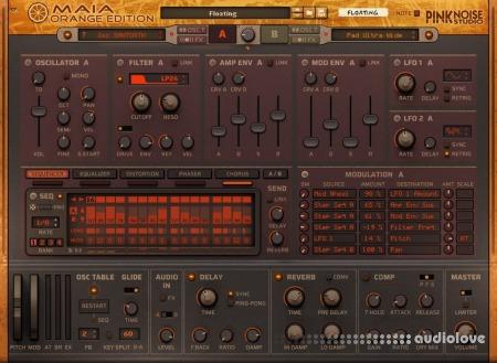 Reason RE PinkNoise Studio Maia Orange Edition