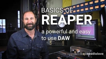 SkillShare Intro to Digital Audio Recording Learn the Basics of Reaper DAW TUTORiAL