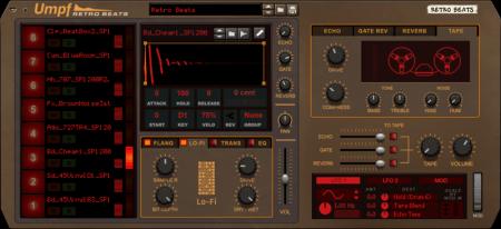 Reason RE Reason Studios Umpf Retro Beats