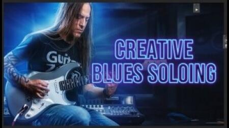 GuitarZoom Creative Blues Soloing 2021 TUTORiAL