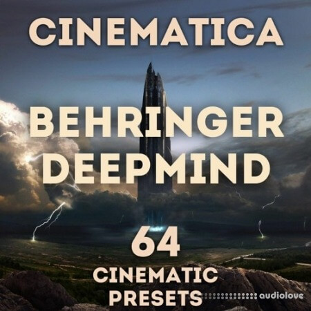 LFO Store Behringer DeepMind 6/12 Cinematica Synth Presets