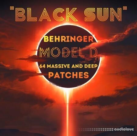 LFO Store Behringer MODEL D Black Sun