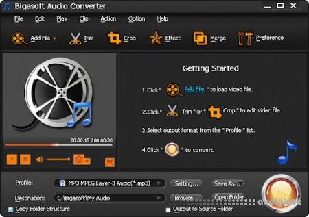Bigasoft Audio Converter v5.5.0.7676 WiN